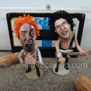 Jonny Rotten And Sid Vicious